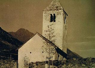 Sankt Sisinius Kirche von Laas